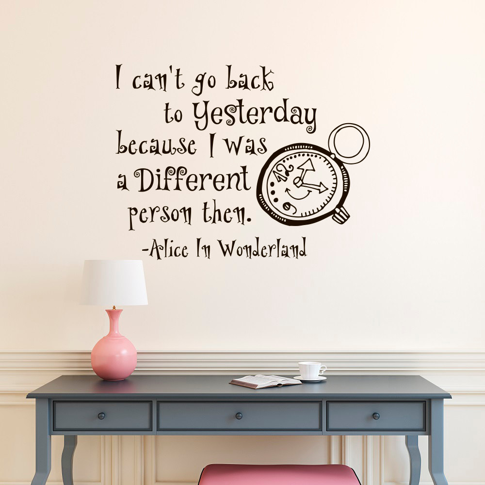 Alice In Wonderland Caterpillar Quotes: Online Buy Wholesale Alice Wonderland Quotes From China