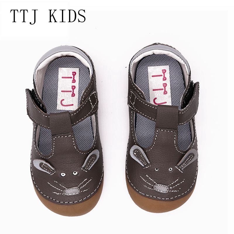 TTJ Children shoes casual girl of recreational shoe toddler boys the spring and autumn period