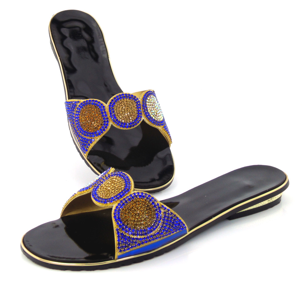 ФОТО Lowest Price Africna Wedding Shoes Fashion Luxury Rhinestones African Sandals Woman Pumps Free Shipping !!DD1-107
