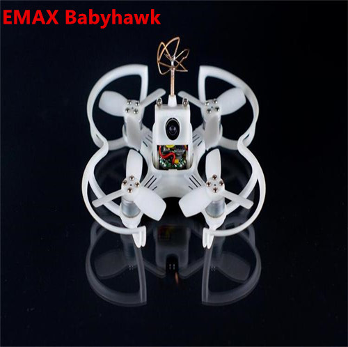 Emax Babyhawk 87mm Brushless FPV Racer Drone F3 Femto Flight Control Camera Drone RC Racing Quadcopter -PNP Version Q20399