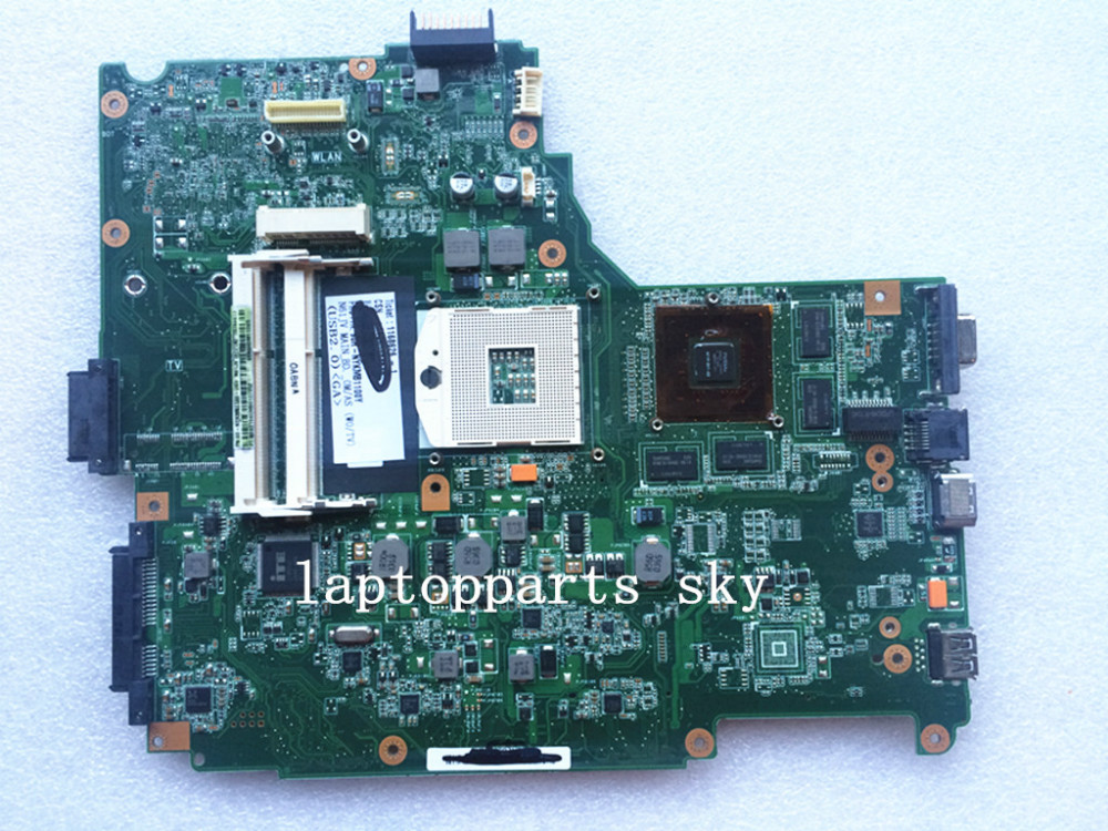 Original new laptop motherboard for Asus N61JV REV:2.2 DDR3 60-NYKMB1100-D03 mainboard original new laptop motherboard for asus k52jc rev 2 1 ddr3 n11m ge2 s b1 mainboard