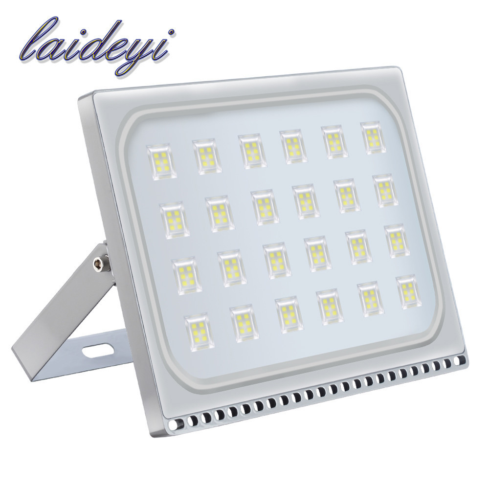 LAIDEYI UltrathinLED Floodlight 150W Reflector Led Spotlight 220V 12000LM Outdoor Garden Security Light Lamp IP67|Floodlights|Lights & Lighting - title=