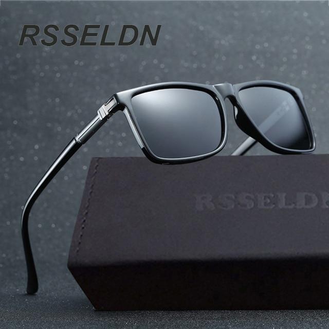 RSSELDN Brand Design Men Classic Sunglasses Polarized Male Glasses Driving Fishing Luxury Sun Glasses for Men Oculos Gafas