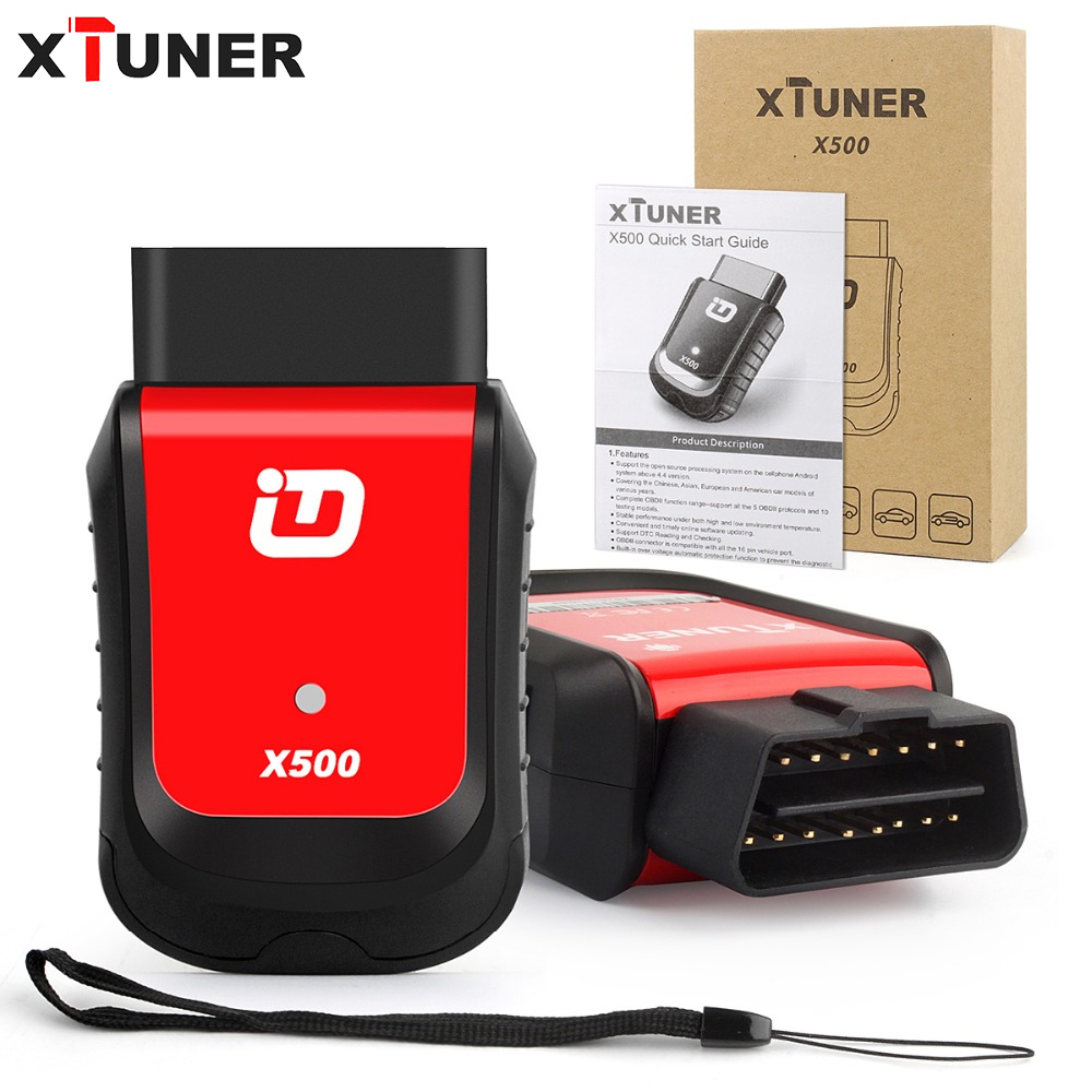 XTUNER X500 Bluetooth Diagnostic Tool works with Android BDII Car Diagnostics OBD2 ABS Battery EPB DPF Reset Oil Service Reset car obd2 obdii oil inspection service reset tool
