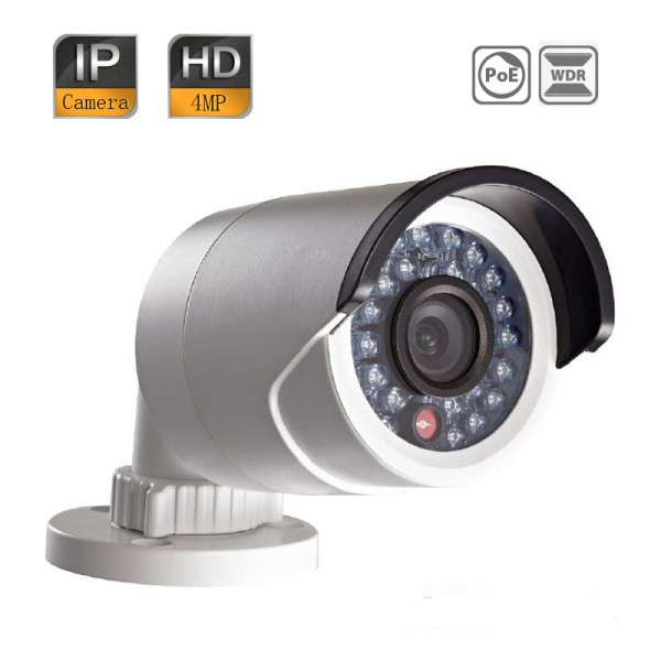 HIK DS-2CD2042WD-I Waterproof IP Camera 4MP 120dB WDR H.264+ Full HD IR IP66 Security Network CCTV POE 10pcs lot multi language hik ip camera ds 2cd2345 i replace ds 2cd2335 i 4mp poe 1080p ir night vision cctv security ip camera
