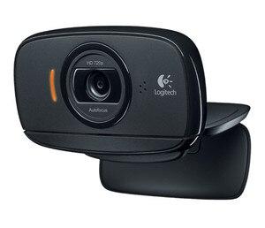 Logitech C525 HD kamera wideo z autofokusem 8MP zdjęcia i wbudowany mikrofon USB2.0 dla Windows 10/8/7 wsparcie oficjalny Test
