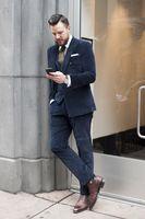 2017 последние конструкции пальто брюки Темно синие вельвет смокинг Slim Fit мужской костюм 3 предмета Блейзер пользовательские жених костюмы дл