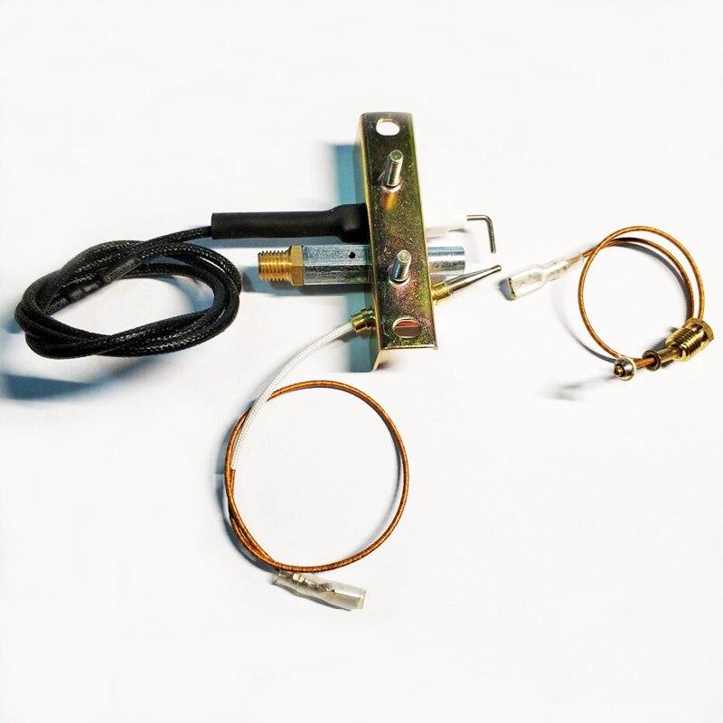 الأرض نجمة LPG مدفأة غرفة غاز شعلة موجهة قطع تجميع الحرارية سلامة جهاز الإشعال مكون