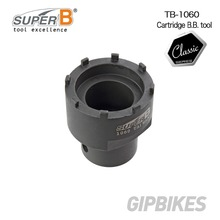 Super B TB-1060 Cartridge B.B. tool For Shimano, T r u v a t i v, SRAM and all ISIS 8-notch bottom bracket cups Bicycle Tools