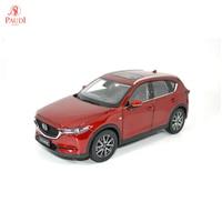 Paudi Model 1/18 1:18 Scale Mazda CX5 Red Diecast Model Car Toy Car Doors Open