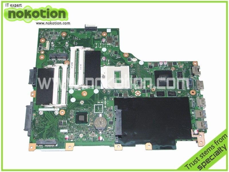 NOKOTION NBM7411001 NB. M7411.001 Pour Acer aspire V3-772G Mère D'ordinateur Portable EAVA70HW CARTE PRINCIPALE GeForce GT750M DDR3L
