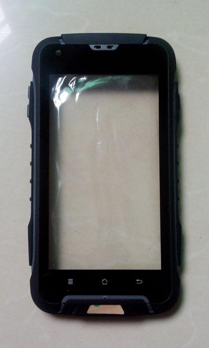 """bilder für Original F605 vorderschale + touch pad für JEEP F605 IP68 robusten Wasserdichten telefon MTK6572 dual core 4,5 """"IPS-screen-kostenloser versand"""