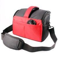 New Red DSLR Camera Shoulder Lens Bag For Canon EOS 1300D 1200D 1100D 100D 700D 650D