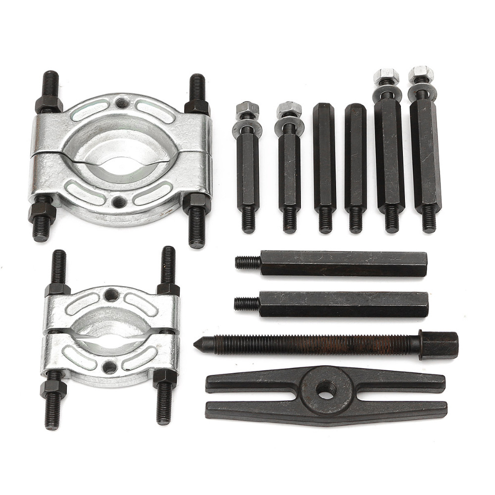 12PCS/Set Multifunction Carbon Steel Bearings Removal Tool Gear Puller Tool Free Fast Shipping motor gear removal tool for airsoft aeg motors
