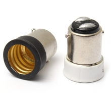 Top Quality  Small Bayonet SBC B15 To Small Screw SES E14 Light Bulb Holder Adaptor Converter Lowest Price
