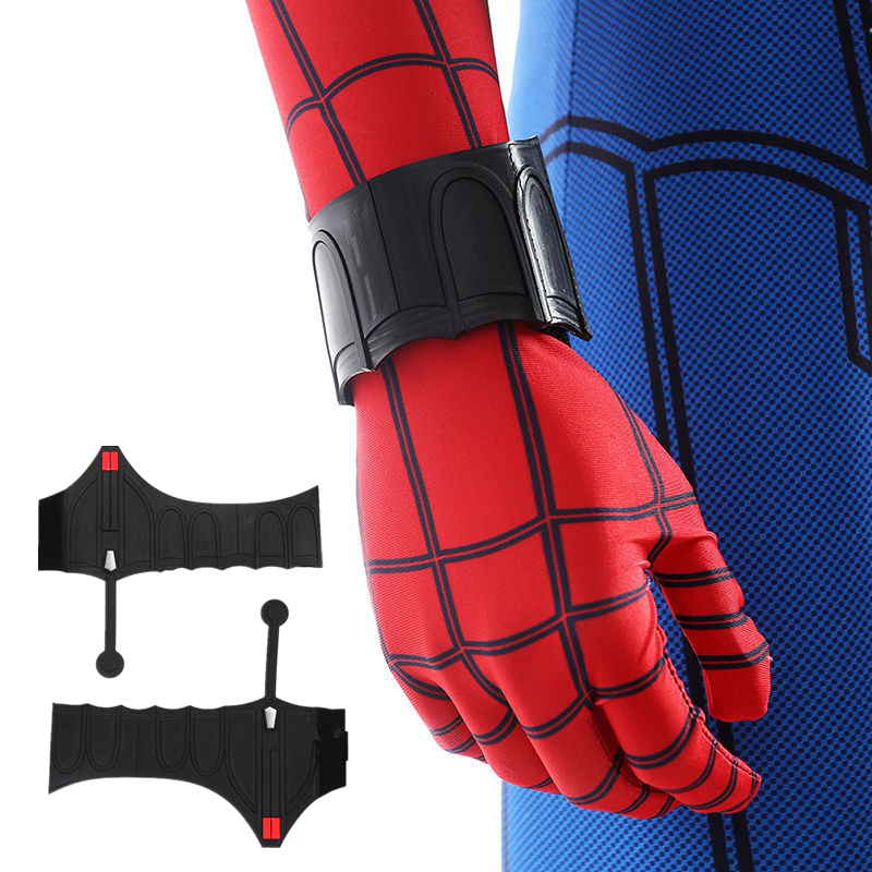 1 Pcs Spider Man Web Shooter Cosplay Accessories Costume Props Peter Benjamin Parker Halloween Free Delivery
