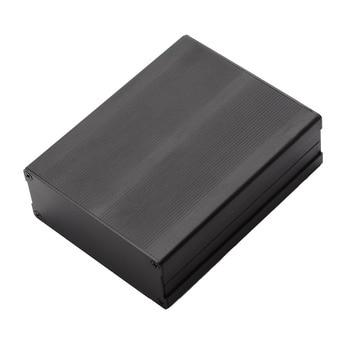 Mayitr Split Body Aluminum Box Enclosure DIY Electronic Project Case Black Aluminum Instrument Case with 8pcs Screws 120*97*40mm black electronic project case aluminum circuit board enclosure box 150x105x55mm with screws