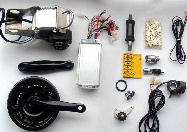 48V 450W 600W electric bike motor conversion kit for MTB mountain bike change bicycle  to electric bike