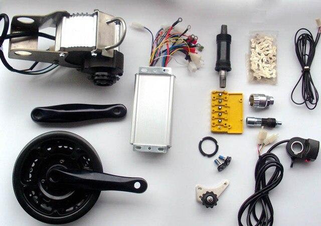 48V 450W 600W electric bike motor conversion kit for MTB mountain bike change bicycle  to electric bike