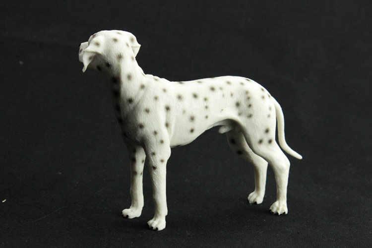 1 pcs França Pet cão Dálmata Animais Modelos Figura de Ação Decoração Modelo de Brinquedo Brinquedos Brinquedos Educação Presente Ornamento de Alta Qualidade
