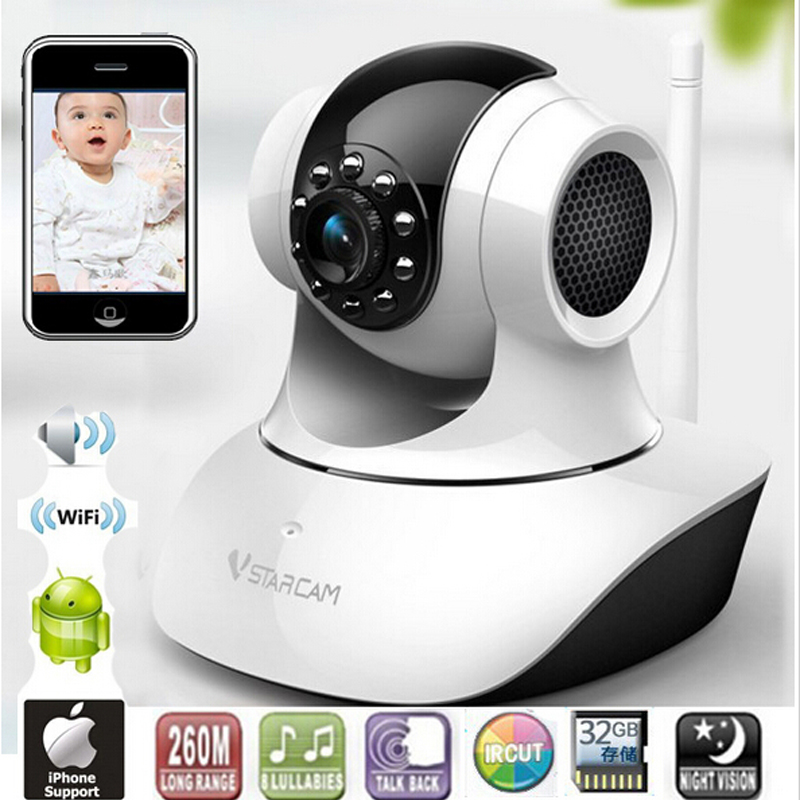 ФОТО Wireless Remote Control Video Baby Monitor with Night Vision Intercom Voice WIFI Network IP Camera Electronic for MAC PC Phone