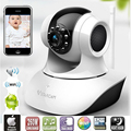Wireless Remote Control Video Baby Monitor with Night Vision Intercom Voice WIFI Network IP Camera Electronic for MAC PC Phone