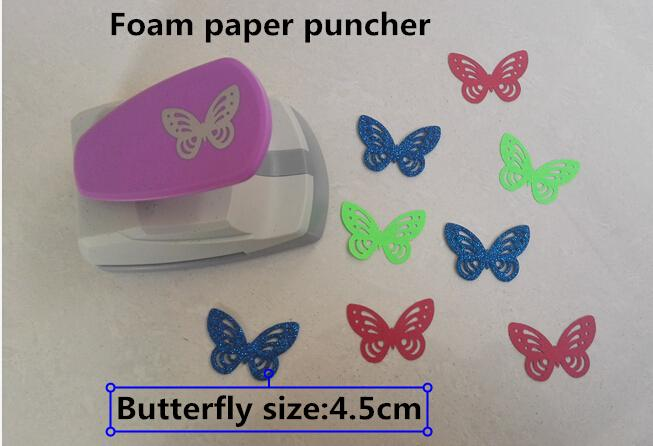 2015 New Super Large Size Punch Craft Scrapbooking Butterfly Puncher You Can Use 2mm Foam Paper Puncher DIY Children Toys