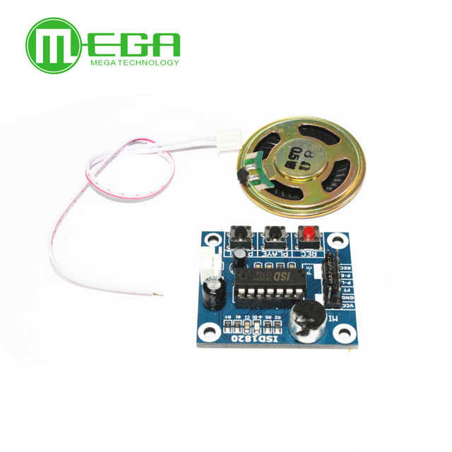 50pcs Isd1820 opname module voice board module recorder versterker