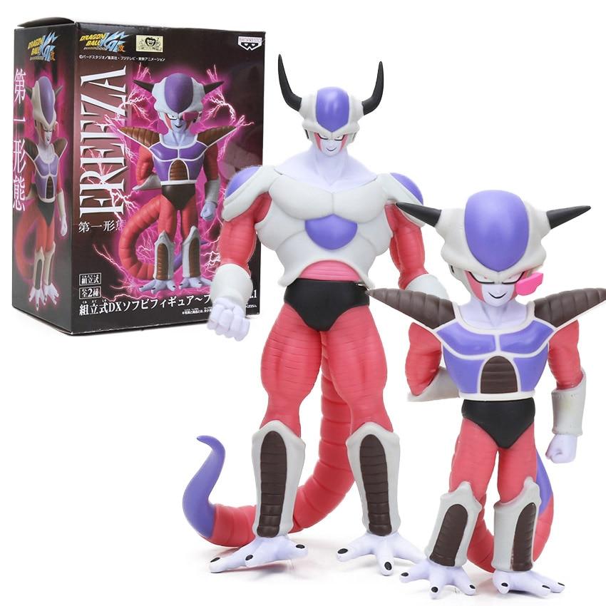 Box 18-21cm Dragonball Z Kai Super Saiyan Frieza Freeza PVC Action Figure DXF Dragon Ball Z Toys Freezer Collection Model Dolls