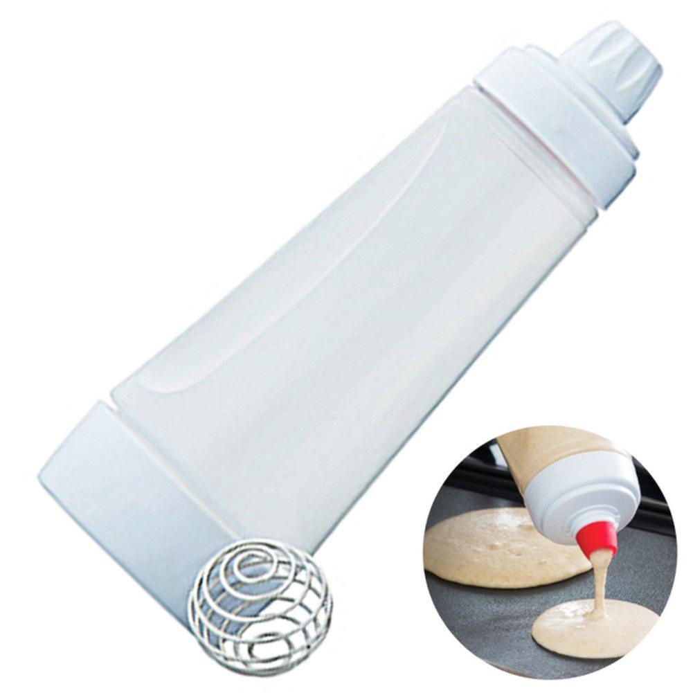 Batter Dispenser Mix bottle Batter Cream Mixing Dispensing Pot With Scale