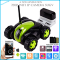720p wifi FPV RC Car Vehicle Drone with Camera Remote Surveillance&Control Real-time Video Cloud Companion A Removable IP Camera