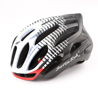 New Arrival Bicycle Helmet MTB Road Bike Cycling Safety Helmets 36 Vents Adjustable Ultralight LED Warning