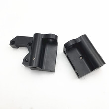 Conjunto de peças de alumínio x eixo x anet a8, peças de alumínio e metal x idler direita/1 conjunto kit esquerdo com tensor do cinto do eixo x