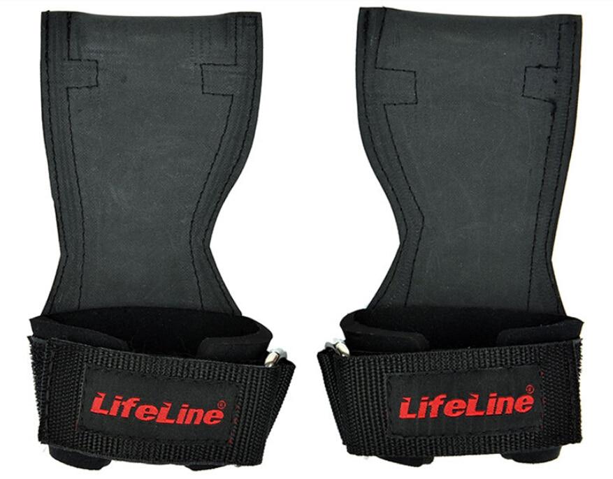 1 paar dikker horizontaal hoge bar pull-up training Gym handschoen - Fitness en bodybuilding