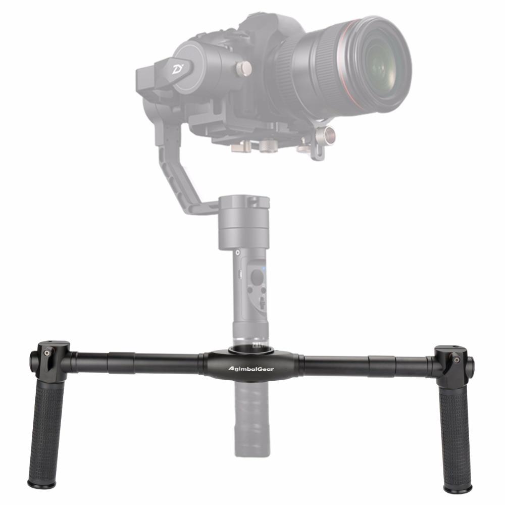 Ulanzi AgimbalGear DH-02 Handheld Dual Handle Grip Extended Video Grips for Zhiyun Crane 2/Crane Plus/M 3-Aixs Stabilizer цены онлайн
