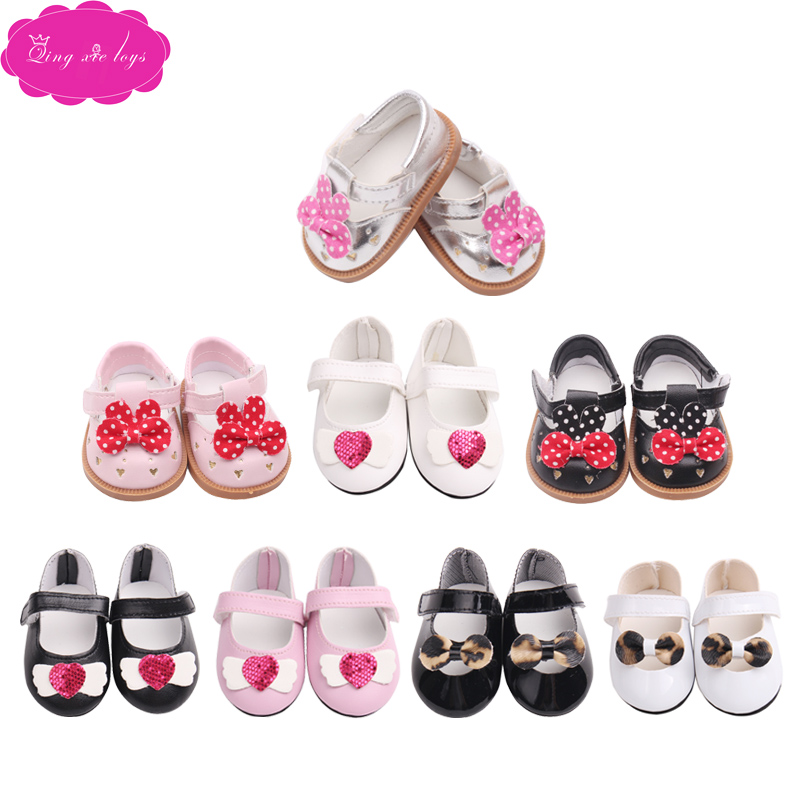 Doll shoe many style lovely shoe princess shoe fit 43 cm baby dolls and 18 inch Girl dolls accessories g50 g175 in Dolls Accessories from Toys Hobbies