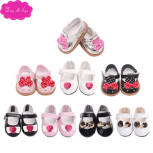Doll shoe many style lovely princess fit 43 cm baby dolls and 18 inch Girl  accessories g50-g175