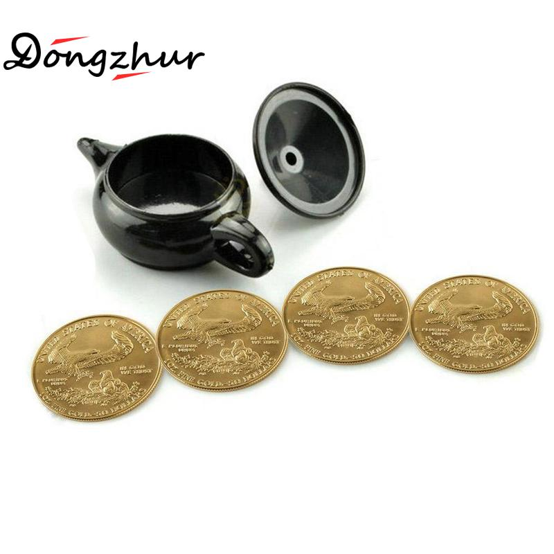 New Wonderful Legend Aladdin Magic Genie Light magic trick professional magician coin thru lamp magic coin props easy to do orbit helicopter вертолет управляемый силой мысли