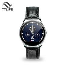 TTLIFE Marke Intelligente Uhr Runden Bildschirm Smart Uhren Bluetooth Pulsmesser Smartwatch pk DZ09 U8 M26 für Smartphones