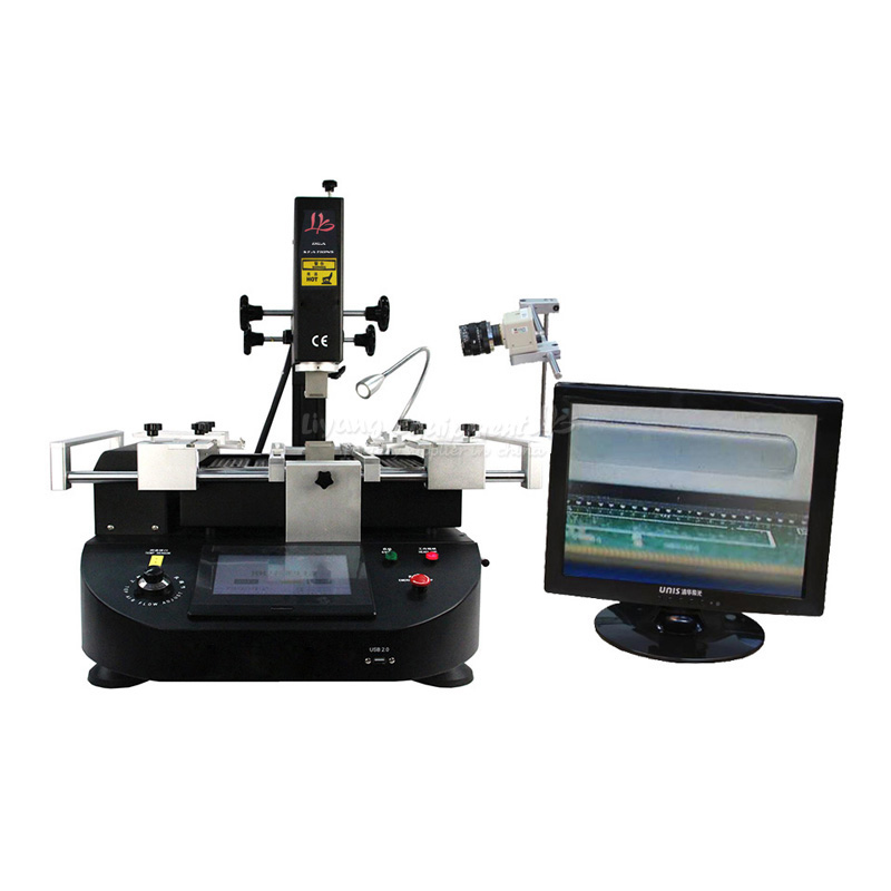 LY-5860 touch screen BGA Rework Station soldering machine hot air 3 zones for Laptop Motherboard Chip Repair bga rework machine ly 5830c hot air 3 zones for laptop motherboard chip repair 4500w zm r5830