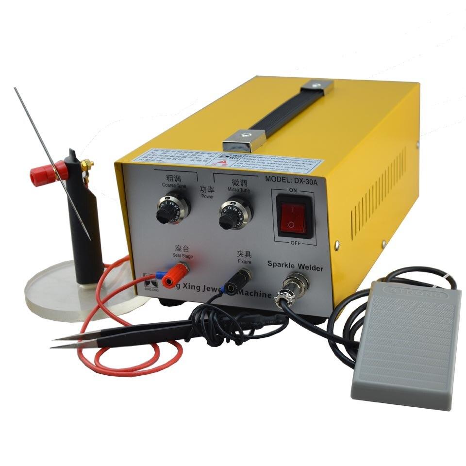GOXAWEE 220 V Saldatrici a punti Elettronico Sparkle Saldatore - Attrezzatura per saldare - Fotografia 2