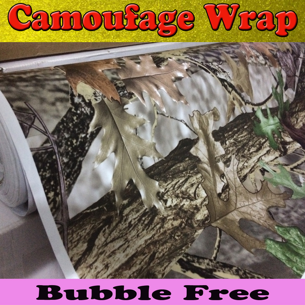 Aliexpress Buy RealTree Camo Vinyl Wrap Mossy Oak