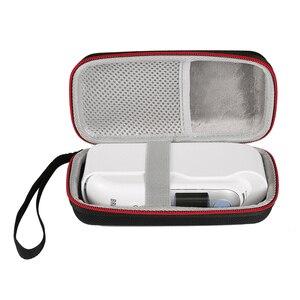 Image 2 - Tragbare Lagerung Reisetasche Tasche Fall für Braun Thermo 7 IRT6520 Digitale Ohr Thermometer Hartschalenkoffer Abdeckung Handtasche