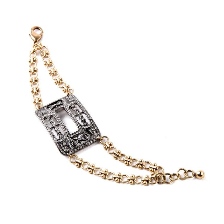 Fashion Major Suit Cool Hand Jewelry Summer Hiphop Bracelet Hot Sale Chic Factory Direct Sales