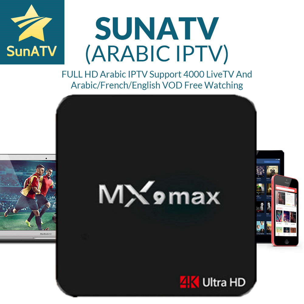 MX9 Max Android 7.1 Smart TV Box RK3328 2G/16GWith 1 Year France/Arabic/UK/Belgium/Netherland/Turkey/Portugal IPTV VOD belgium culture smart