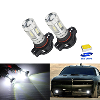 ANGRONG 2x SAMSUNG H16 PS19W 5202 9009 лампы LED проектор SideLight Противотуманные фары дневного света