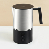 Scishare electric milk frother cappuccino shaker steamer jugs machine pitcher automatic foamer stainless maker for coffee