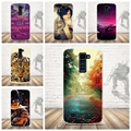 Роскошные 3D Краска Мягкая Вернуться ТПУ Телефон Cover Case Для LG K10 Lte K 10 М2 K410 K420N K430DS F670 Dual Case Назад Силиконовый Чехол Сумка