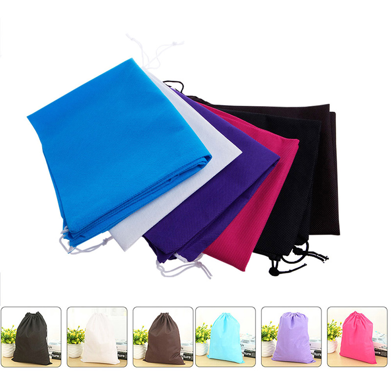 Loyal Home Laundry Shoe Travel Pouch Portable Tote Drawstring Storage Pouch Organizer Lustrous Surface Kitchen Storage & Organization