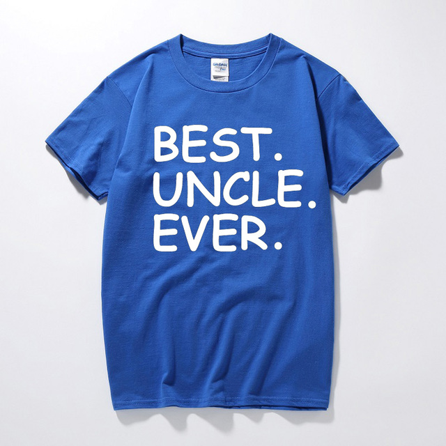 Mens Present T Shirt Best Uncle Ever Holiday Birthday Gifts Ideas For Dad Father